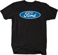 Tshirt -ford Blue Oval Emblem Logo - Officially Licensed