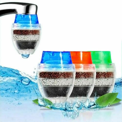 1pc Coconut Carbon Home Kitchen Faucet Tap Water Clean Purifier Filter Cartridge
