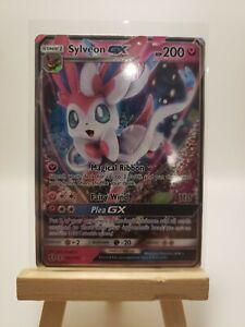 Pokemon TCG 92a//145 Sylveon GX Alternate Foil Promo Black Star Rare Card