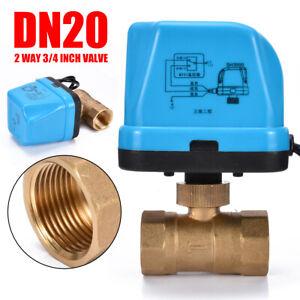 G3-4-034-DN20-2-Vie-220V-Controllo-Valvola-a-Sfera-Elettrica-Motorizzata-set
