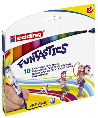 ca 10x Edding dicke Fasermaler e-14 Funtastics 10er Set 3 mm
