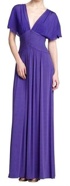 New with tag lila   PersianBlau BCBG Max Azria 'liz' Lace Back Gown Dress S (4)