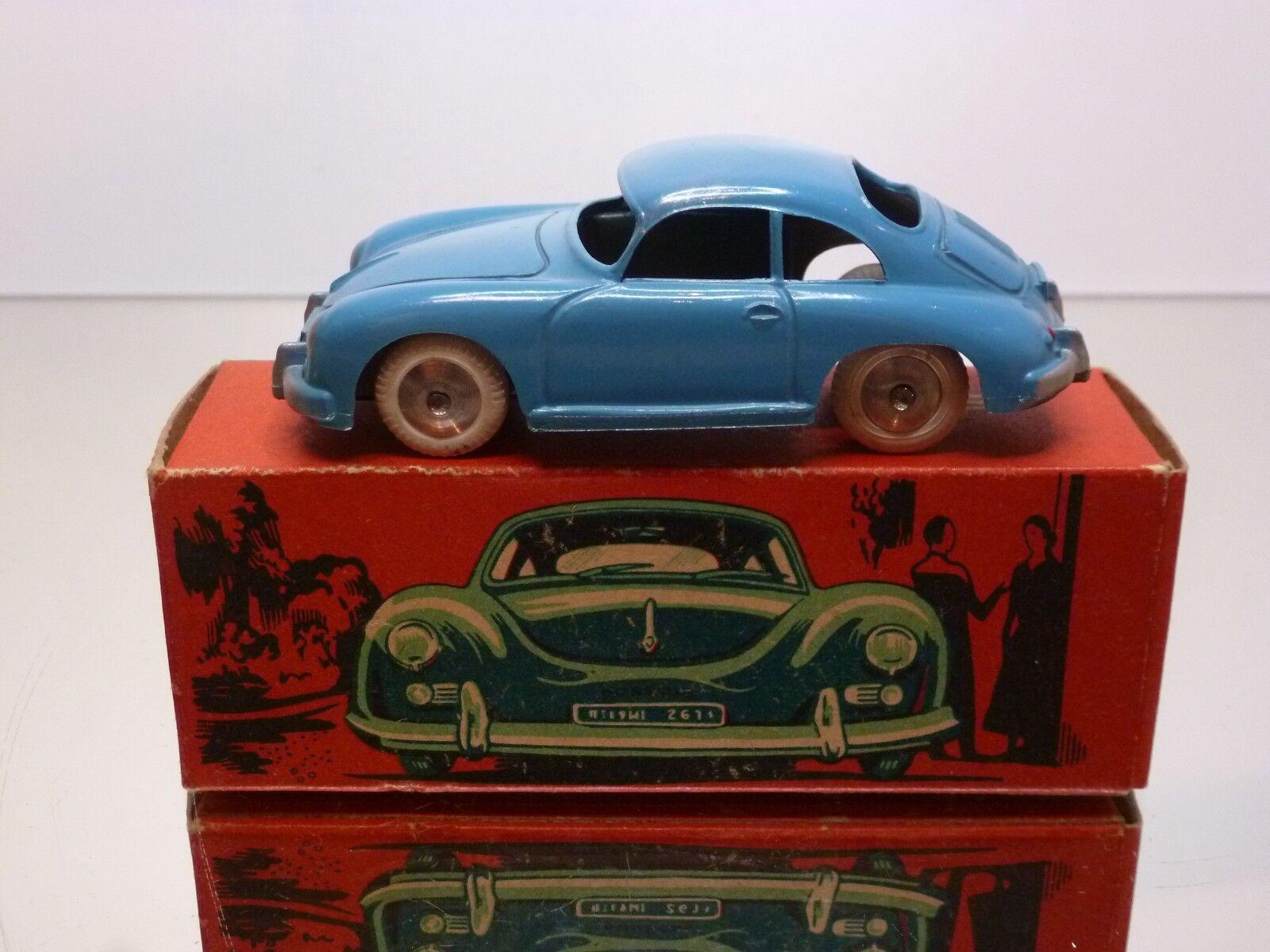 QUIRALU PORSCHE 356A COUPÉ - bleu 1 43 - EXCELLENT IN BOX