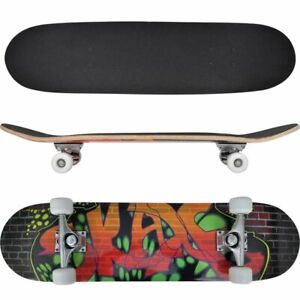 Complete-Longboard-Wheels-Skateboard-79cm-9-Ply-Maply-Cruiser-Deck-Sector-Oval