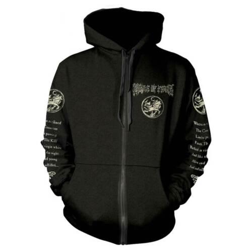 Cradle Of Filth /'Cruelty And The Beast/' Zip Hoodie NEW hood hoody