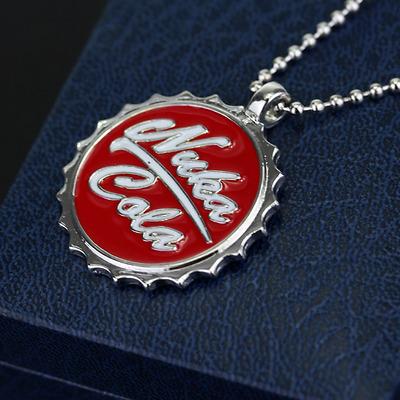 new Women's Fashion Pip Boy Nuka Cola FALLOUT Radiation 4 pendant necklace