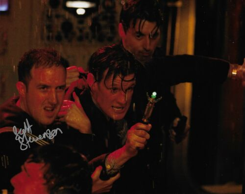 Photo Doctor Who J154 Scott Stevenson in person signed autograph