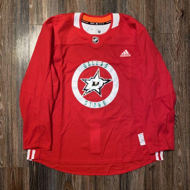 adidas NHL Dallas Stars Authentic Pro Practice Jersey Size 58 3xl ...