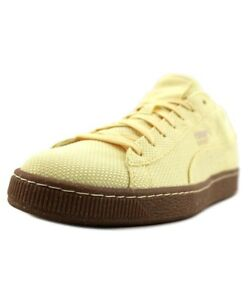 f5c6a1c60503 Puma Men s Basket Ripstop Ice Cream Mellow Yellow Swan Sneakers ...