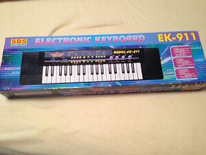 Details about Electronic Keyboard Digital Sound EK-911 Portable Vintage SBS  Superb Sound Rare