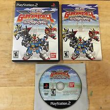 SD Gundam Force: Showdown Sony PlayStation 2 PS2 System Complete Game