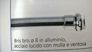 Bastoni Per Tende Con Ventose.Dettagli Su Bastone Bris Bris Per Tende A Vetro Molla Ventosa 8 Mm