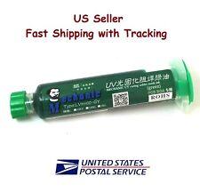Pcb Bga Uv Curable Solder Mask Repairing Paint Green 10ml Us Seller Fast Ship