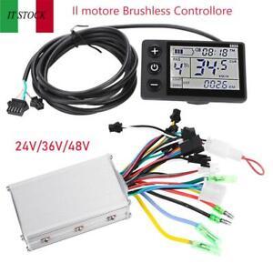 24V-36V-48V-LCD-Display-Pannello-Elettrico-Controller-Brushless-per-biciclette