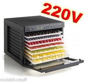 Tribest-Sedona-SD-P9000-220V-240V-9-Tray-Digital-Food-Dehydrator-5-Yr-Warranty