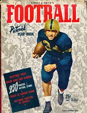 1942 Street Smith Football Yearbook em b1 Allen Cameron