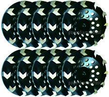 10pk 5 Arrow Segment Diamond Cup Wheel Concrete Mastic Grinding 58 11best