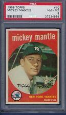 1959 Topps Mickey Mantle #10 Baseball Card