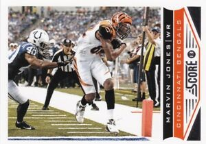 2013 panini score football Cox- #42 Marvin Jones-afficher le titre d`origine ktWfY4fi-09094238-300784077