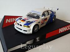 "SCX Scalextric Slot Ninco 50270 BMW M3 GTR ""Motorsport Nº42"" J.Lento/J.Muller"