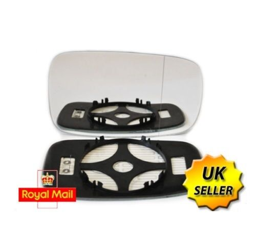 Right Driver Side Heated Wing Door Mirror Glass  RENAULT SCENIC MK2 2003-2009