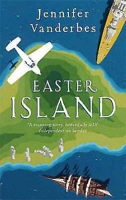 """AS NEW"" Vanderbes, Jennifer, Easter Island Book"