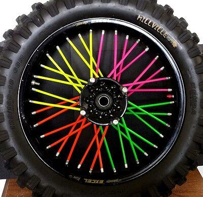 "20"" **BICYCLE SPOKE WRAPS** bmx,mountain bike,trek,fixie,coats,skins,covers"