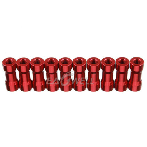 10~100PCS 10mm~35mm M3 Aluminum Column Standoffs Spacer Round Head Colorful LOT