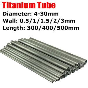 Wall 3mm,Length 500mm E0J-22 1pcs Titanium Grade 5 Gr.5 Tube OD 30mm x 24mm ID