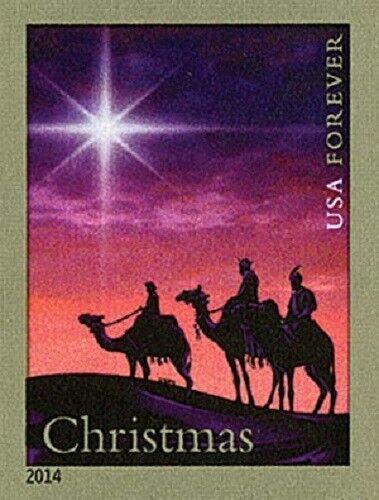 2014 49c Christmas Magi, Wise Men, Imperforate Scott 49