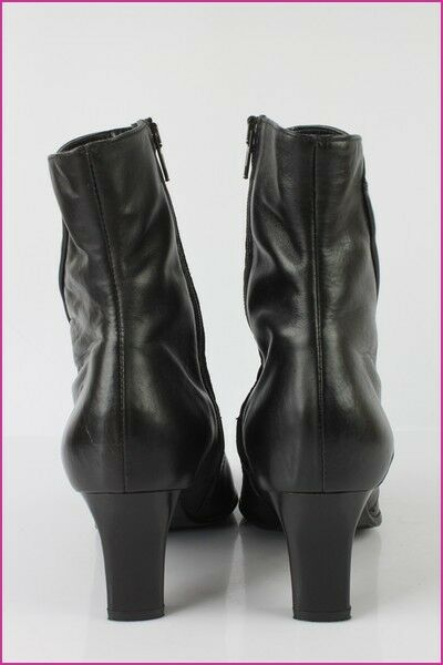 Bottines Boots SIMONA Fashion Cuir FR Noir UK 7 / FR Cuir 40,5 TBE fb9d39
