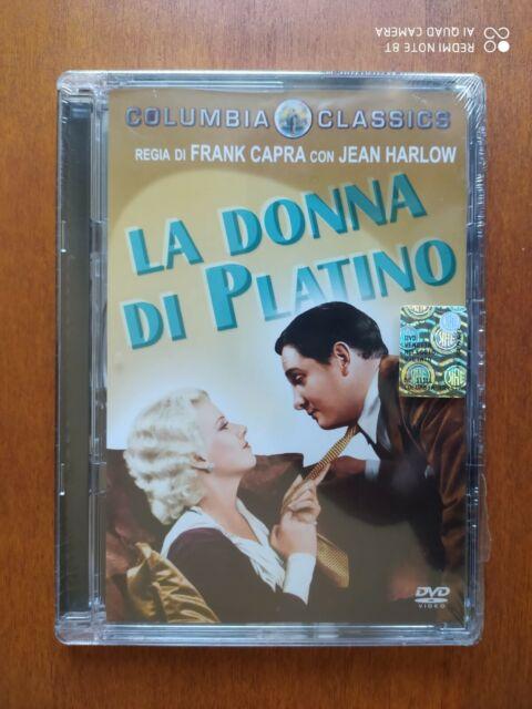 LA DONNA DI PLATINO (1931) DVD (Ed. Jewel Box) RARO e FUORI CATALOGO SIGILLATO