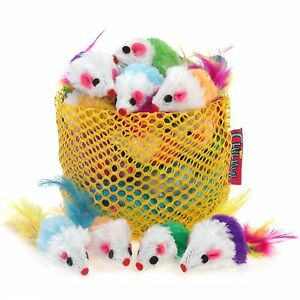 Cat Mouse Toy Small Catnip