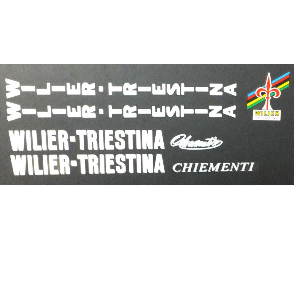 Wilier Triestina decals  vintage restoration