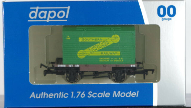 DAPOL 4F-037-001 - Conflat & Container - Southern Railway [New]