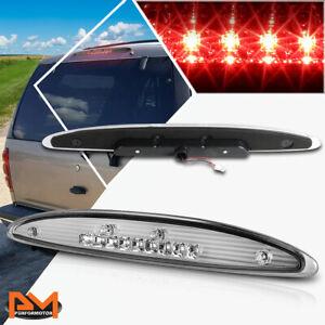 For 02-10 Ford Explorer Full LED Third 3RD Tail Brake Light Stop Lamp Bar Chrome