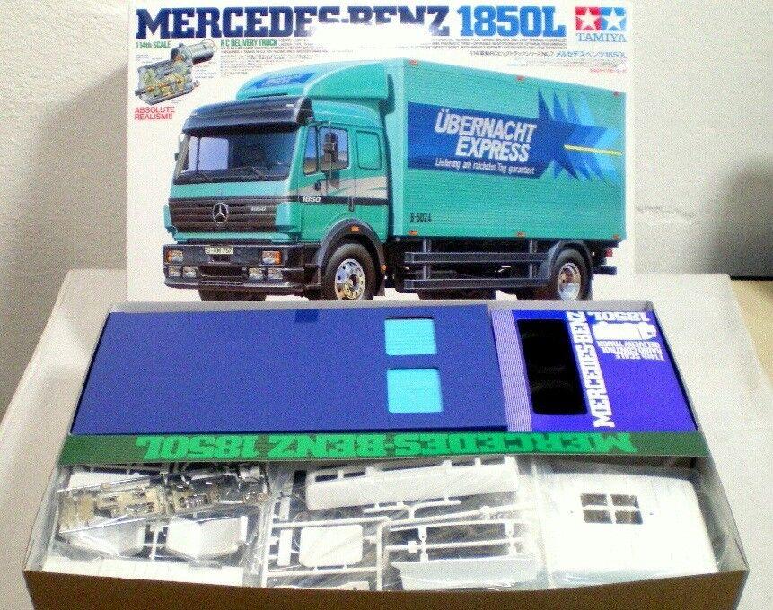 TAMIYA   56307 1/14  4x2  RC Mercedes Benz 1850L  NEW IN BOX