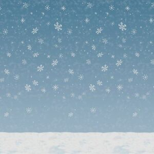 Image Is Loading 60 039 Frozen Snowflake Winter Wall Mural Christmas  Part 48