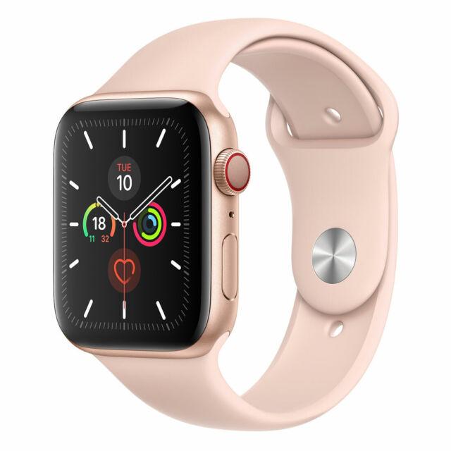[Open Box - As New] Apple Watch 44mm Series 5 (GPS + Cellular) - Gold Aluminu...
