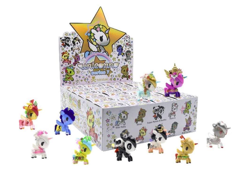 Tokidoki Unicorno Series 7 3-inch Vinyl Figure Full Display Case 24 Blind Boxes