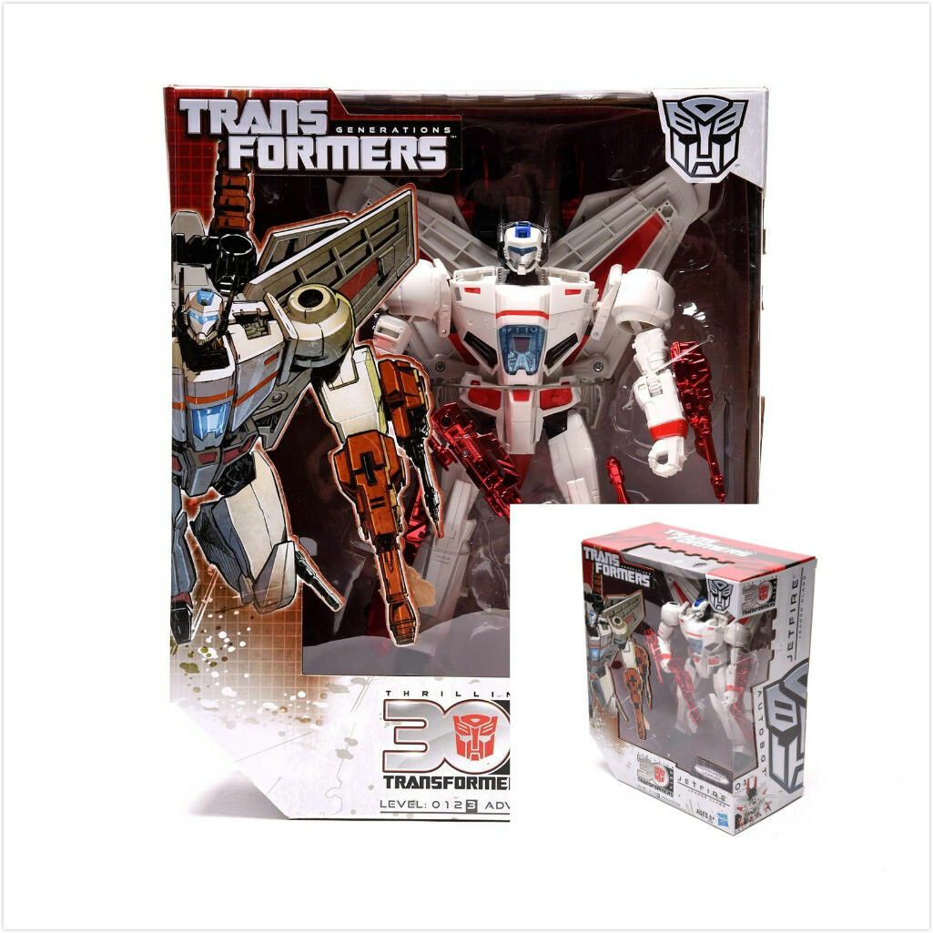 Hasbro Transformers Thrilling IDW 30th Anniversary Leader Class Jetfire Geschenk