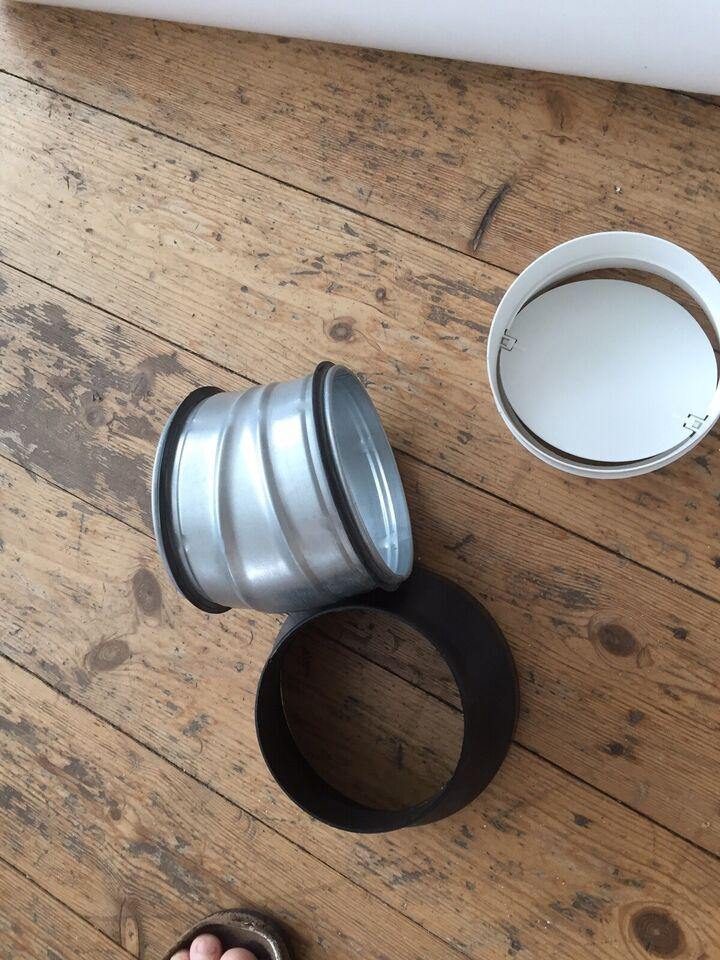 Ventilation og emhætte , DUKA plastik + metal