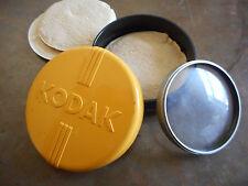 Vintage Kodak VI Porta Lens 2+ in Plastic Yellow Black Case