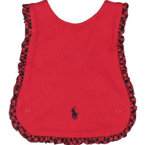 Ralph Lauren Interlock CrossBack Bib{Red}{One Size}