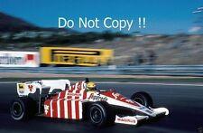 Ayrton Senna Toleman TG184 Portugal Grand Prix 1984 Photograph 1