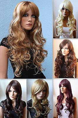 Volumiöse & Sexy Perücke Wig (Haarteil Zopf)  wie Echthaar div. Farbe & Still