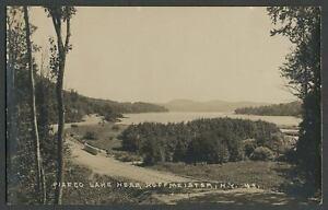 Hamilton-Co-NY-c-1920s-30s-RPPC-Photo-Postcard-PISECO-LAKE-NEAR-HOFFMEISTER