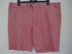 """BNWT Homme m/&s collection gamme Mélange De Lin Indigo Shorts Taille 40/""""//102CM £ 29.50"""