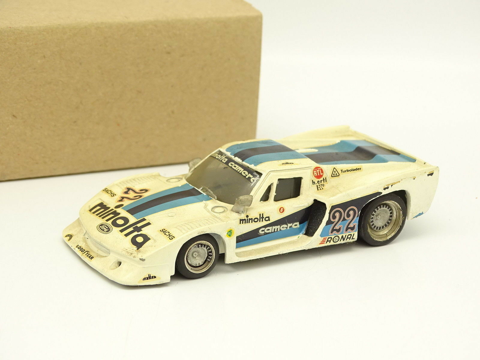 AMR Kit Assemblemed Metal 1 43 –massaus Europa Turbo Gr5 N  FRAM5533;65533; 22 Nurburgring 1979