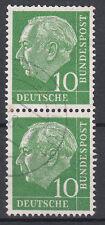 BRD 1954 Mi. Nr. 183 senkrechtes Paar gestempelt (18312)